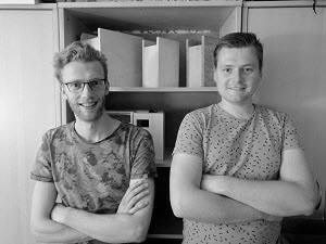 Moreno Vrijma and Casper Stinenbosch