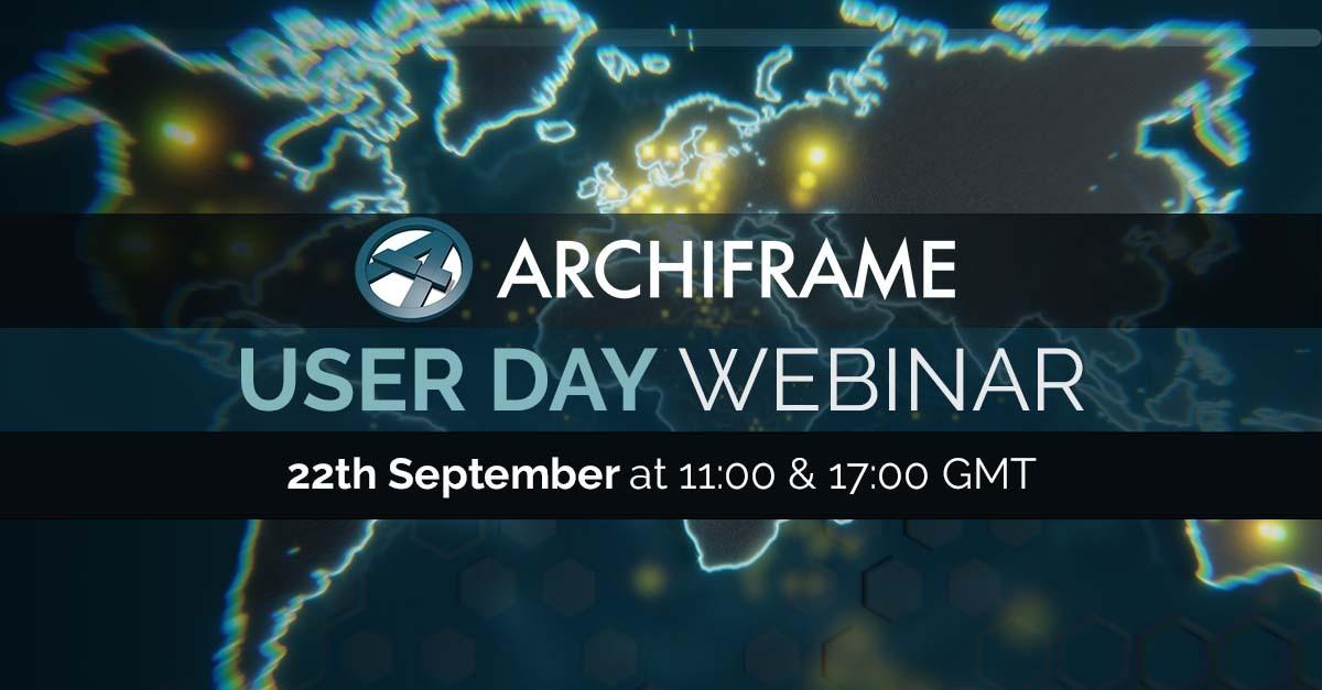 ArchiFrame User day 22nd of September 2021